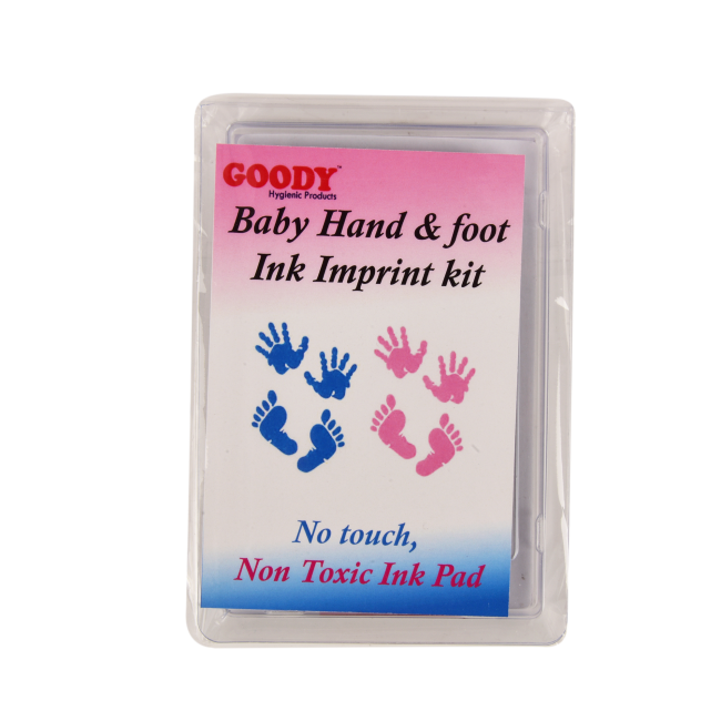 Baby Hand & Foot Ink Imprint Kit