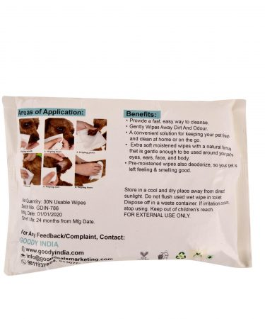 Disposable Pet Wet Wipes